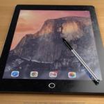 Рендеры iPad Pro и фирменного стилуса Apple