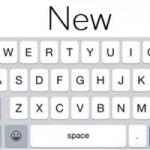В iOS 8.3 Apple вернула нормальный пробел на клавиатуре
