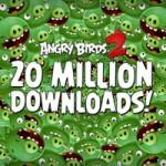 Angry Birds 2 скачали более 20 миллионов раз