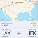В iOS 9 и OS X El Capitan есть функция просмотра информации об авиарейсах
