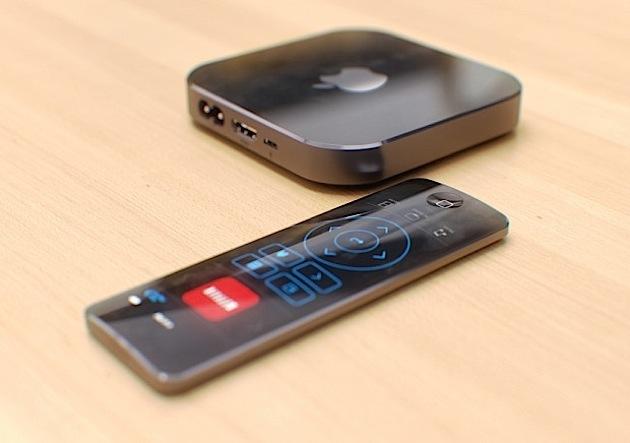 Телеприставка Apple TV 4-го поколения получит пульт ДУ с сенсорами движения