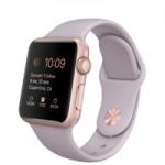 Распаковка Apple Watch Sport в золотом цвете
