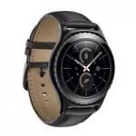 Samsung представила умные часы с круглым экраном