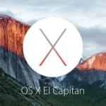 Вышла первая публичная бета-версия OS X 10.11.2 El Capitan