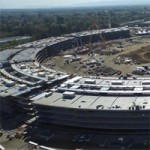 Новый видеоотчет со стройплощадки Apple Campus 2