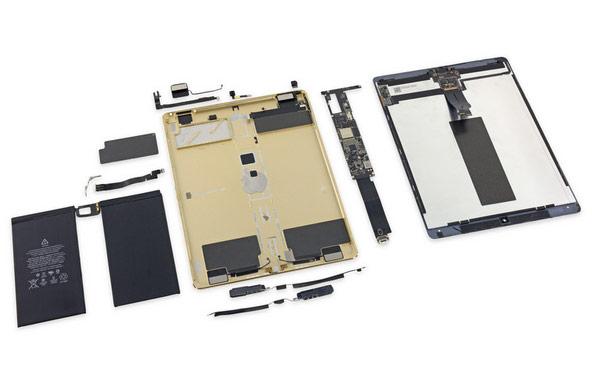 IFixit изучила новый iPad Pro наремонтопригодность