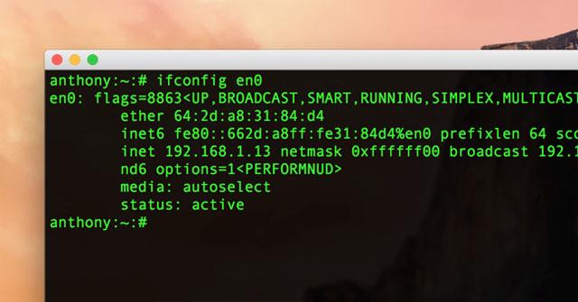 mac address-1