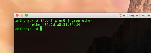 mac address-3