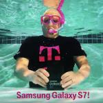 Подводная распаковка Samsung Galaxy S7