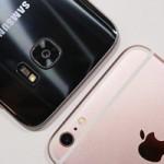 При слабом освещении Samsung Galaxy S7 снимает лучше, чем iPhone 6s