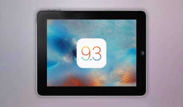 Вышла новая версия iOS 9.3 с решением проблемы с активацией
