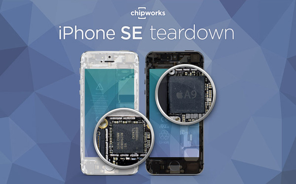 IPhone SE разобрали. Фото