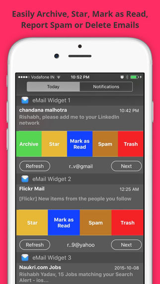 eMail Widget 2-3