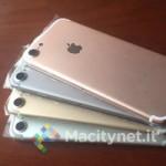 «Живые» фото iPhone 7 в четырех расцветках