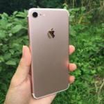 И снова iPhone 7. На этот раз в цвете «розовое золото»