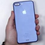 Синий iPhone 7 Plus засветился на фото