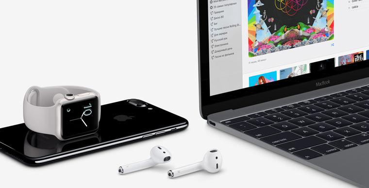 Наушники Apple AirPods будут работать состоронними телефонами