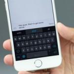 Как активировать в iOS клавиатуру для одной руки (Cydia)