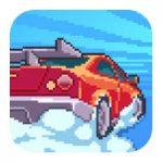 Pixel Drifters – машины, препятствия и аварии