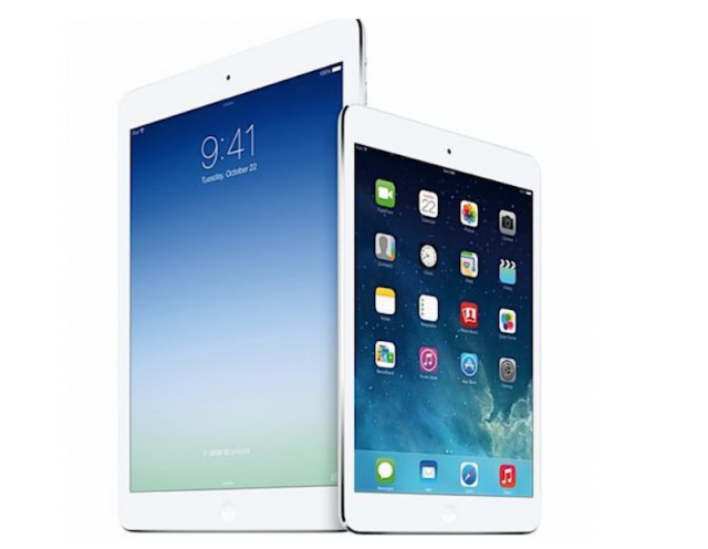 ipad air ipad mini 2