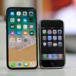 На одном экране iPhone X поместилось бы больше десятка экранов iPhone 2G