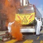 В Сан-Франциско демонстранты на час заблокировали автобусы Google и Apple