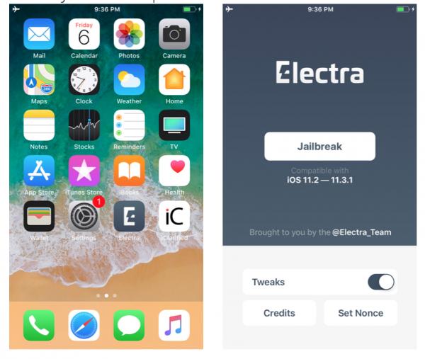electra app start