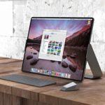 Представлен концепт гибридного Mac-iPad с огромным складным экраном