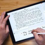iPad может научиться распознавать рукописный текст