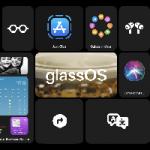 В сети появился концепт интерфейса glassOS