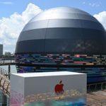 Apple построит в Сингапуре фирменный магазин в форме шара