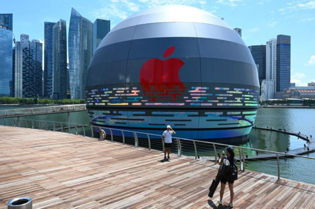 Apple построит в Сингапуре фирменный магазин в форме шара 1