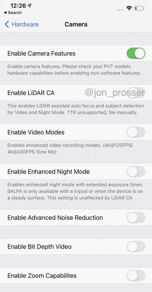 iPhone 12 Pro Max все же может получить 120 Гц дисплей и LiDAR 2