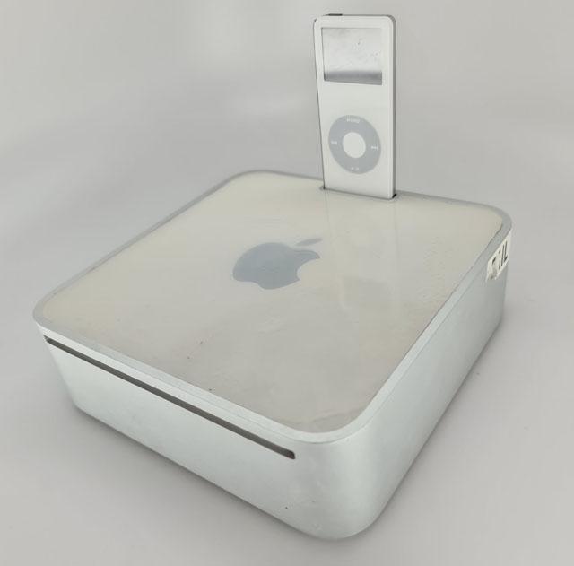 В первом Mac mini мог появиться встроенный док для iPod nano 1