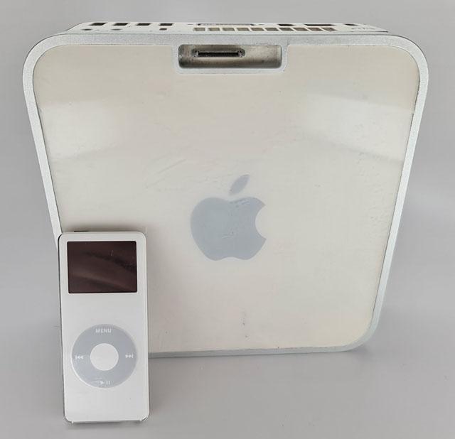 В первом Mac mini мог появиться встроенный док для iPod nano 0