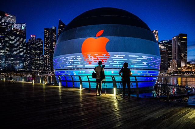 Apple построит в Сингапуре фирменный магазин в форме шара 2