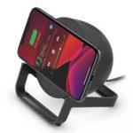 BOOST↑CHARGE Wireless Charging Stand + Speaker – 2-в-1 зарядка и колонка